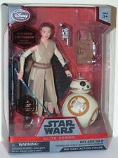 STAR WARS elite Figure Rey & BB-8 DISNEY STORE CASE Fresh Force Réveille