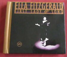 ELLA FITZGERALD   3 CDS  FIRTS LADY OF SONG