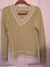 Saint Johns Bay Size Medium Long Sleeve Sweater New