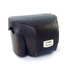 Canon PSC-2000 Fitted Leather Camera Case (Brown) for PowerShot G2 #39420