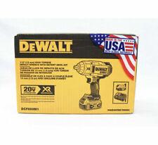 """DEWALT DCF899M1 20V MAX XR Li-Ion 1/2"""" Impact Wrench w/ Detent Pin Anvil NEW!!!!"""