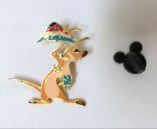 Disney Timon Trading Pin The Lion King Holding Bug Leaf Platter Meerkat Waiter
