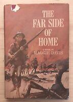 Vintage Hardback The Far Side of Home by Maggie Davis Novel 1963 Book Civil War