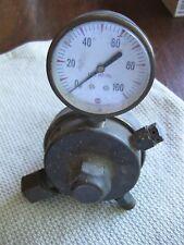 Victor Equipment High Pressure Gas Regulator Gauge 635543 Brass Made In The Usa