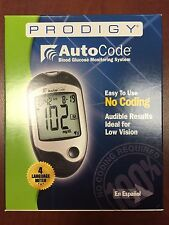 Prodigy Auto Code Talking Blood Glucose Monitoring Kit - English or Spanish