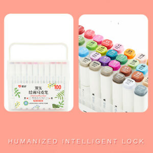 AIHAO Sketch Marker Pen Color Series Double-Ended Markers Colour Artist Marker