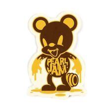 Pearl Jam Honey Bear Sticker 4.5in Music Rock Band Seattle si
