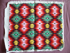 #1663  Beautiful Vintage Embroidery Hand Made Tapestry  48cm/40cm(19''x16'')