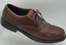 BOSTONIAN FLEXLITE  BROWN LEATHER OXFORD DRESS CASUL SHOE MENS SIZE 12m (S43)