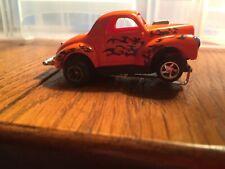 Orange Slot Car Hot Rod Flames