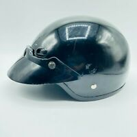 Bell Open Face Motorcycle Helmet Shorty Anthracite Solid Size Large Black