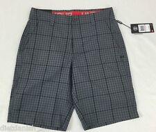 Under Armour Men's Athletic Shorts Loose Heat Gear Grey Plaid 1275097 Size 28
