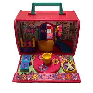 Vintage Pound Puppies & Purries '95 Galoob Best In Show Carrier PlaySet 1 Kitty