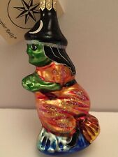 New ListingChristopher Radko 1995 Night Ride Witch Signed by Radko New with tag Ornament
