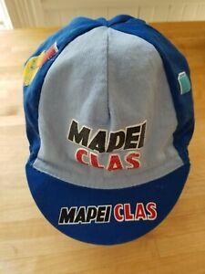 Vintage Mapei Clas COLNAGO cap casquette maglia ciclismo