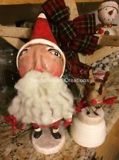 NEW ESC and Company Inc KRISTMAS KRIS & LIL' RUDY Figurine 15 INCHES Santa