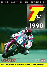 Isle of Man TT - Official Review 1990 (New DVD) Conquest