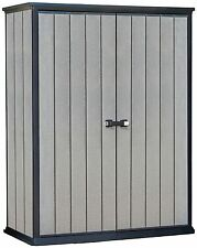 Keter High-Store Storage Shed - Grey (17202203)