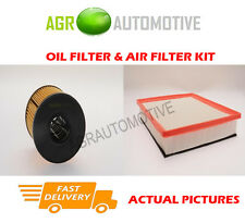 DIESEL SERVICE KIT OIL AIR FILTER FOR OPEL MOVANO 2.2 90 BHP 2003-06