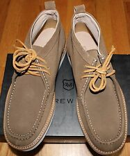 $178 ANDREW MARC HAVEN CARIBOU/WHT/DK CYMBAL SUEDE CHUKKA BOOT SZ 9D
