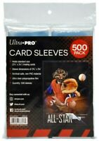 Ultra Pro - 500 Pack of Card Soft Sleeves (500 sleeves total per pack)
