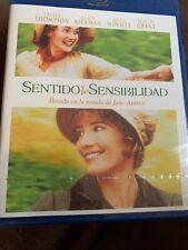 Sense and Sensibility (Blu Ray Region Free) NEW