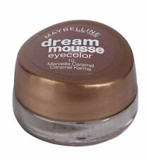 MAYBELLINE Eyeshadow DREAM MOUSSE eyecolour 10 castano caramello Ombretto crema