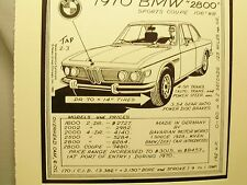 1970 BMW Sports Coupe  Auto Pen Ink Hand Drawn  Poster Automotive Museum