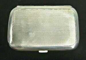 Antikes Visitenkarten Etui  Silber 935 R&V Vergoldet um 1920 362/3