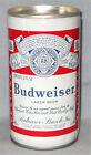 Budweiser Beer Soft Flat Top Beer Can- Anheiser-Busch Brewing- St Louis, Mo