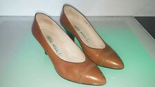 Rare Bruno Scola women's shoes canadian company made in Italy size 7 (37)