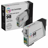 LD Reman T098120 for Epson T098 98 Black Ink Cartridge Artisan 700 800 710 835