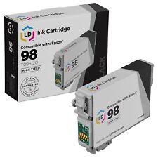 LD Reman T098120 for Epson T098 98 Black Ink Cartridge Artisan 700 800 710 835