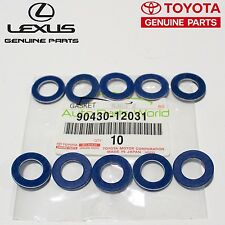 NEW GENUINE OEM TOYOTA LEXUS SCION DRAIN PLUG GASKET SET 10 X 90430-12031