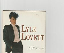 Lyle Lovett-Stand by your man UK cd single