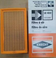 KNECHT Luftfilter LX 452 für Renault Laguna