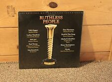 RUTHLESS PEOPLE - SOUNDTRACK (JAGGER, JOEL) 1986 **SEALED** VINYL LP RECORD (1)