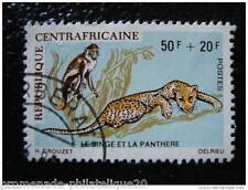 REPUBLIQUE CENTRAFRICAINE timbre stamp yt n°138 obl (A)
