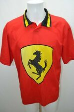 FERRARI MAILLOT T SHIRT FOOT FOOTBALL JERSEY  M ROUGE