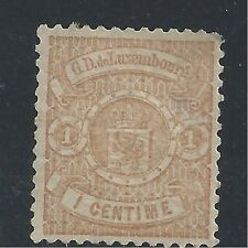 LUXEMBOURG  #29  MH - 1878