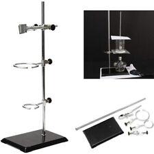 Lab Retort Stands Chemistry Lab Flask Support 2 Ring Platform Stands Tool Set Us
