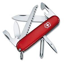 Victorinox Hiker - cuchillo (rojo acero inoxidable)