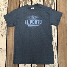 EL PORTO, MANHATTAN BEACH, CALIFORNIA •  Real SWELL • Men's Surfing Shirt SMALL