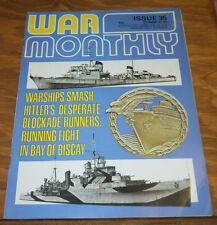 1976 Issue No. 35 of WAR MONTHLY Magazine/Operation Amherst/RAF Catalina