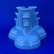 Homer Laughlin Fiesta PERIWINKLE Tripod  Pyramid Candle Holder NIB