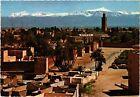 CPM MAROC Le Maroc pittoresque. Marrakech-Koutoubia et Grand Atlas (342949)