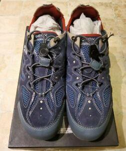 Geox Respira Sneaker U Snake B Mesh&Suede Gr. 42