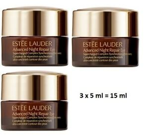 Estee Lauder Advanced Night Repair Eye Complex - New - 3 x 5 ml = 15 ml
