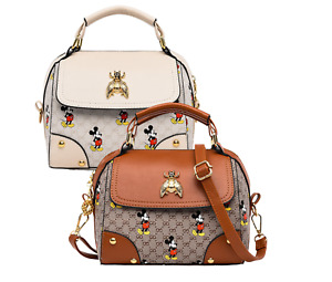 New Synthetic PU Leather MICKEY MOUSE HANDBAG