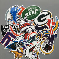 20 X NFL American Football Stickers